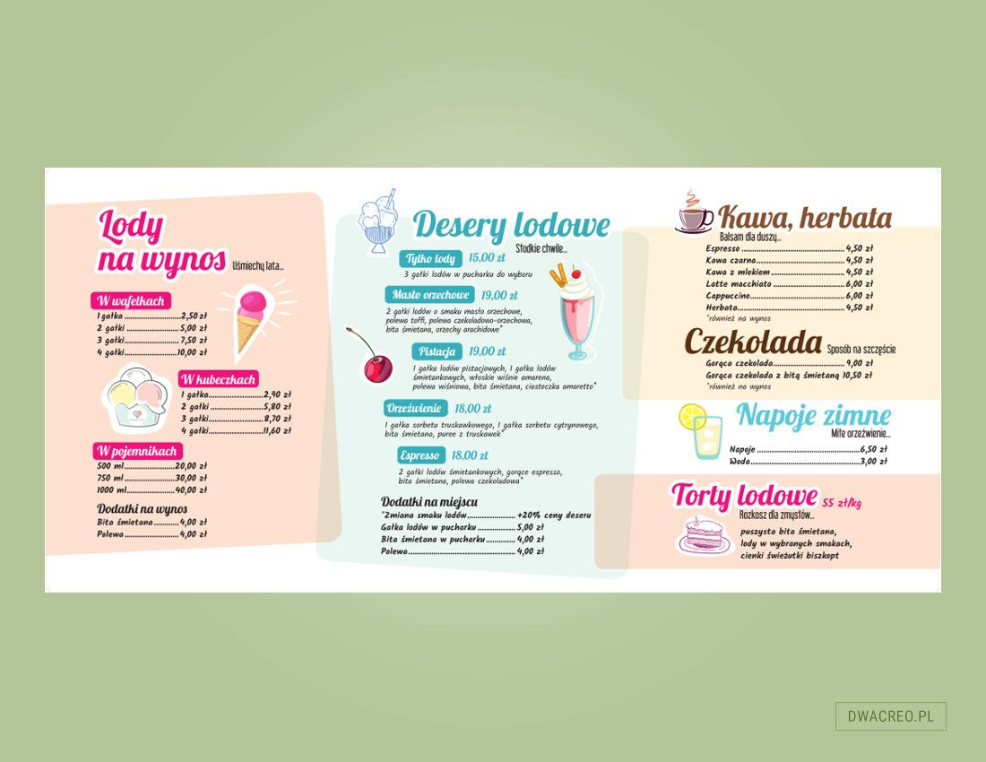 torino - menu - design - 2Creo-DwaCreo-agencja reklamowa - agencja kreatywna