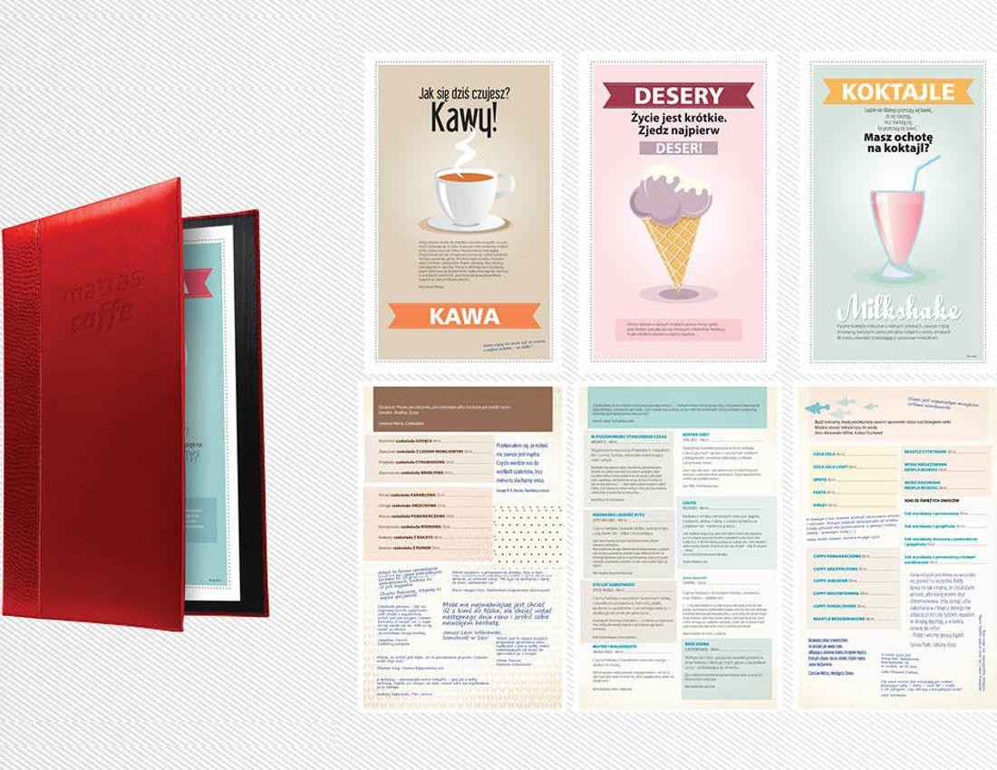 menu matras - design - 2Creo-DwaCreo-agencja reklamowa - agencja kreatywna