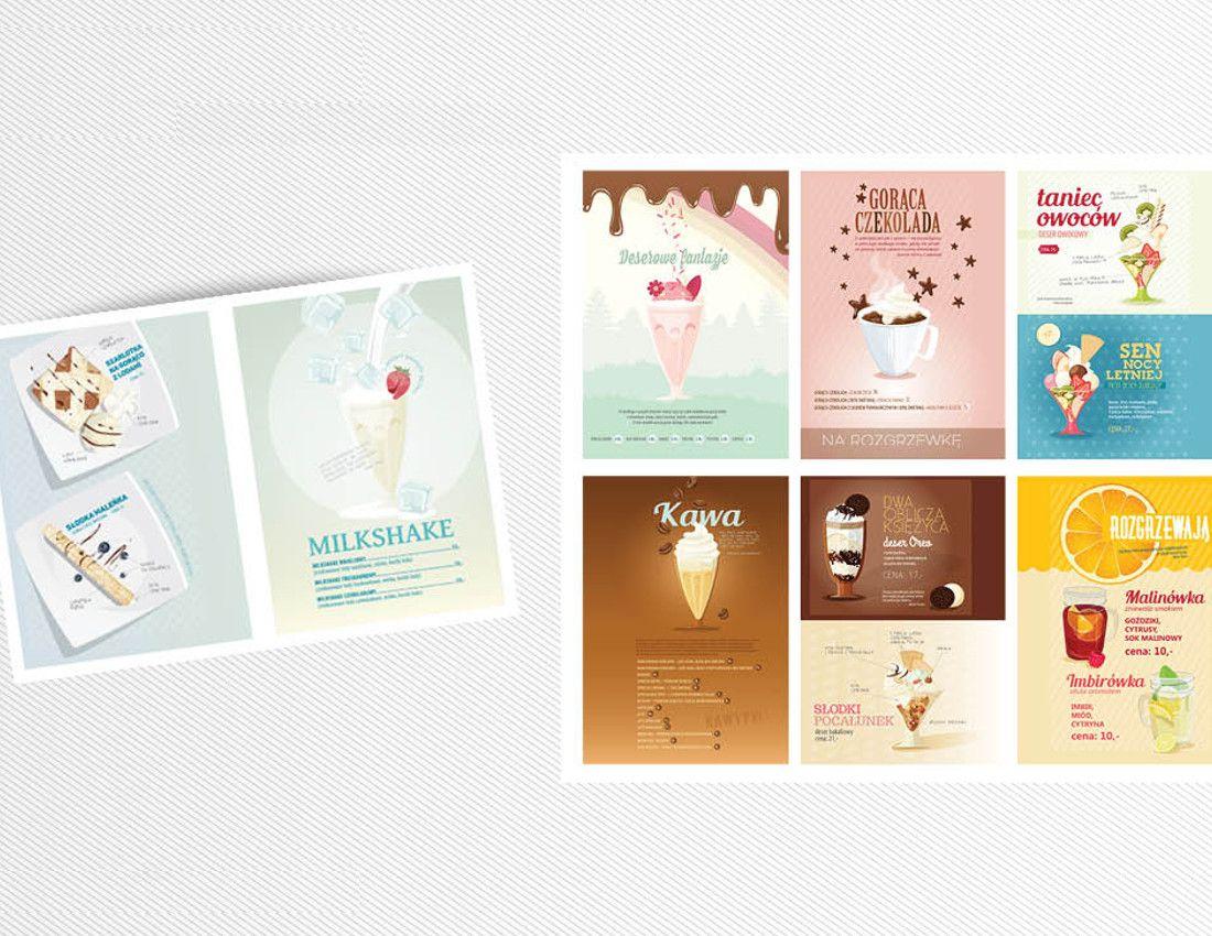 menu lodziarnia - design - 2Creo-DwaCreo-agencja reklamowa - agencja kreatywna
