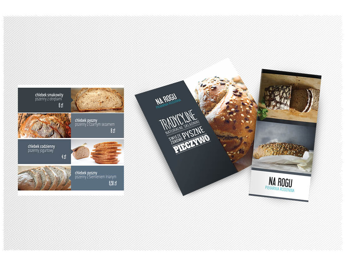 menu, autorskie, unikalne, piekarnia, naleśnikarnia, gastronomia, karty alkoholi, projektowane