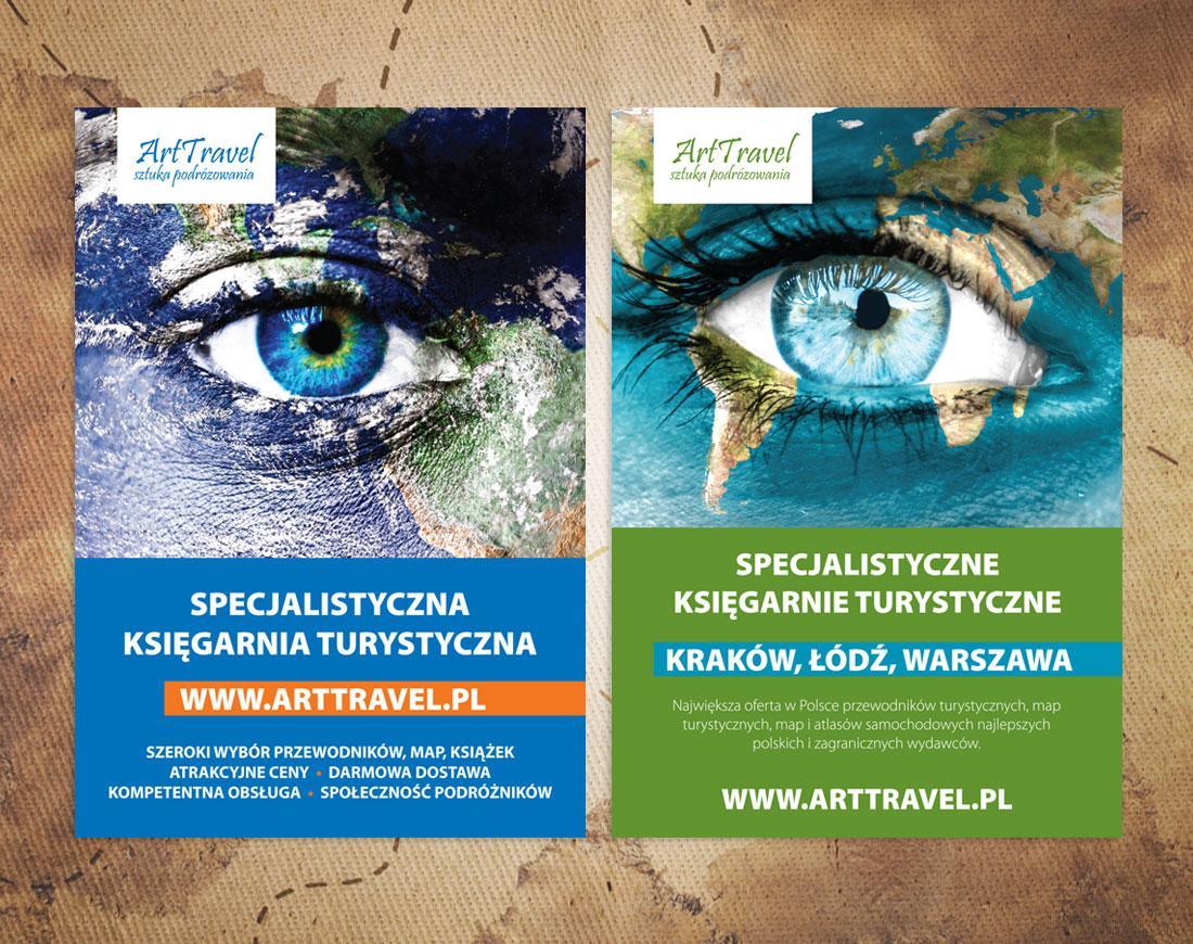 arttravel - plakat - design - 2Creo-DwaCreo-agencja reklamowa - agencja kreatywna