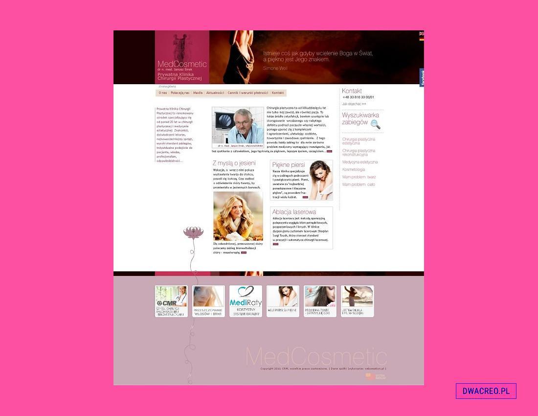 kosmetologia - design - 2Creo-DwaCreo-agencja reklamowa - agencja kreatywna