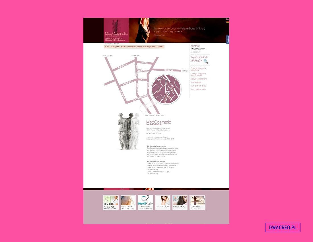 medycyna estetyczna - design - 2Creo-DwaCreo-agencja reklamowa - agencja kreatywna