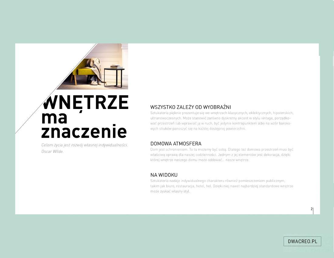 Marbet Design - katalog - projektowanie
