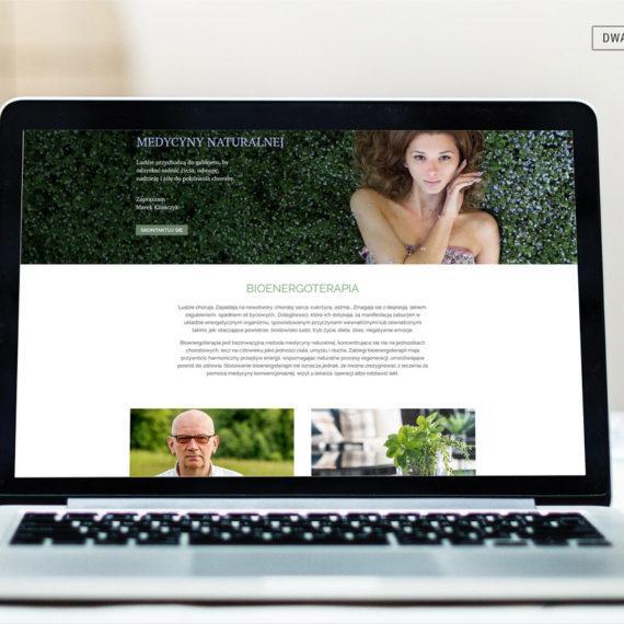 Bioenergoterapia. Strona firmowa gabinetu terapii naturalnych