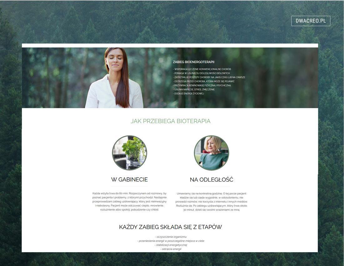 Bioenergoterapia. Strona firmowa gabinetu terapii naturalnych w Bielsku