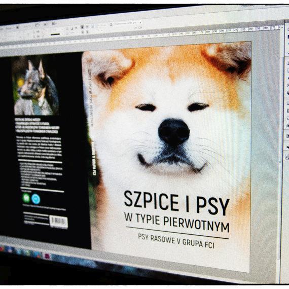 Okładka - książka o szpicach i psach w typie pierwotnym V grupy FCI