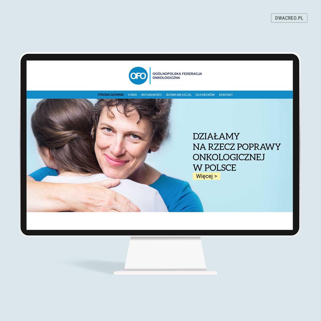 Strona internetowa Federacji Onkologicznej